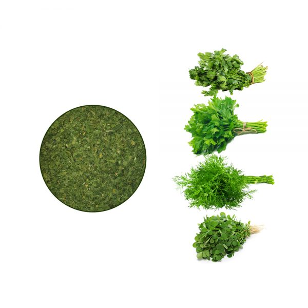 سبزی پلویی کارخانه ای